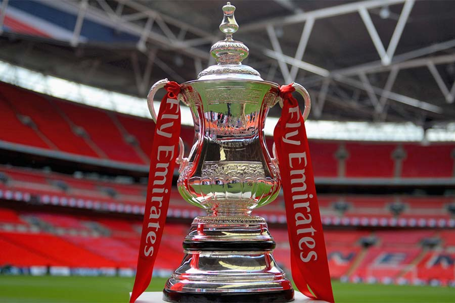 An image of the FA Cup Final cup - book a chauffeur to this event from GandT Executive
